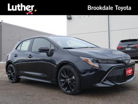 New 2020 Toyota Corolla Hatchback Nightshade CVT FWD 4dr Car
